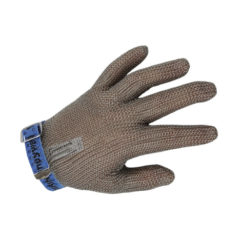 CHAINEX STEEL MESH 5-FINGER WITH ADJUSTABLE STRAP