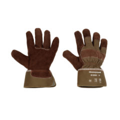 GLOVE-SPLIT RIGGER BROWN SIZE