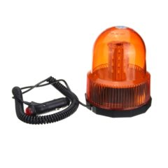BEACON LIGHT MAGNETIC 12-24 VDC WHITE LED AMBER LEN