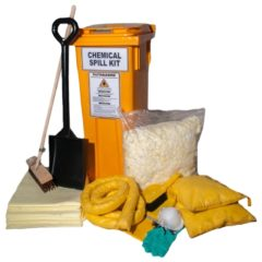 CHEMICAL WHEELY BIN SPILL KIT