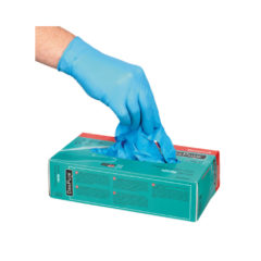 GLOVE DEXPURE 800-81 BLUE NITRILE GLOVE – MEDIUM