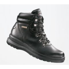 LADIES BLACK CHUKKA BOOT