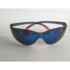 SPECTACLES SPORTY BLUE MIRROR LENS – QB1212-BML