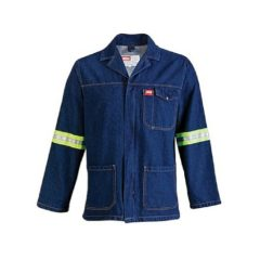 100% COTTON REF. WORK JACKET NAVY CHERRY