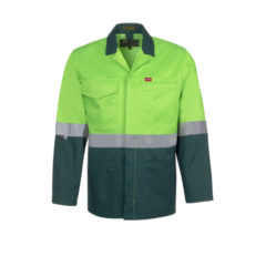 HI-VIZ WINTER JACKET LIME GREEN