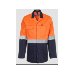 HI-VIZ WINTER JACKET ORANGE/NAVY